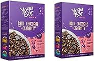 Yogabar Wholegrain Breakfast Muesli - Dark Chocolate + Cranberry, 400g