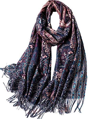 Schal für Damen Winter, Winterschal Lange Schals für Herren