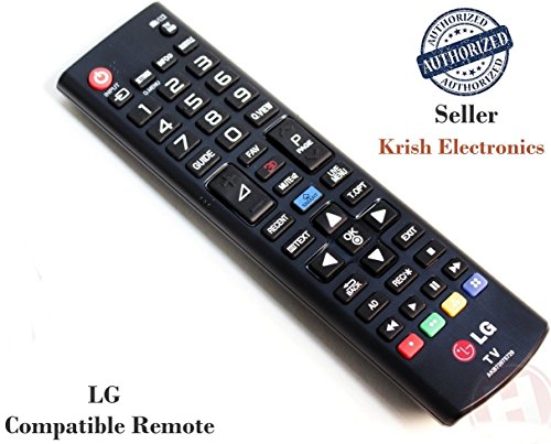 DD Accessories LG LED TV \LCD TV Remote Control (Works for all LED/LCD  available at amazon for Rs.185