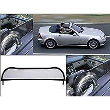 1996-2004 Wind deflector Windabweiser - Rot Windblocker GermanTuningParts Windschott f/ür Mercedes SLK 170
