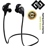 TAGG T - 07 Wireless Sports Bluetooth Headset with Mic, Sweatproof Earbuds, Best for Running, Noise Cancellation, Stereo Sound Quality, Compatible with Iphones, IPads, Samsung and other Android Devices