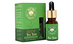 Old Tree Tea Tree Essential Oil for Skin, Hair and Acne Care, 15ml