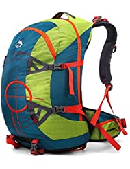 YAAGLE Unisex Nylon Oxford Anti-scratch Water Resistant 50L Outdoor Hiking  Mountain Climbing Camping Skiing Backpack Explorer Sports Cycling Biking  Rucksack ... 84e011c8c8c3f