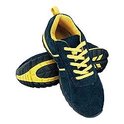 Reis Brnicaragua45 Sichere Schuhe, Dunkelblau-Gelb, 45 Größe