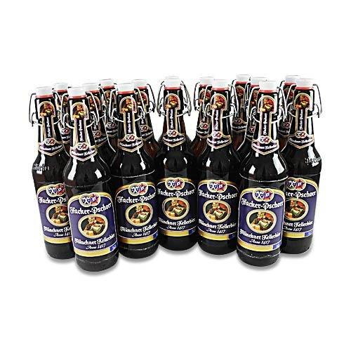 Hacker-Pschorr Kellerbier naturtrüb (16 Flaschen à 0,5 l / 5,5% vol.) Münchner Bier