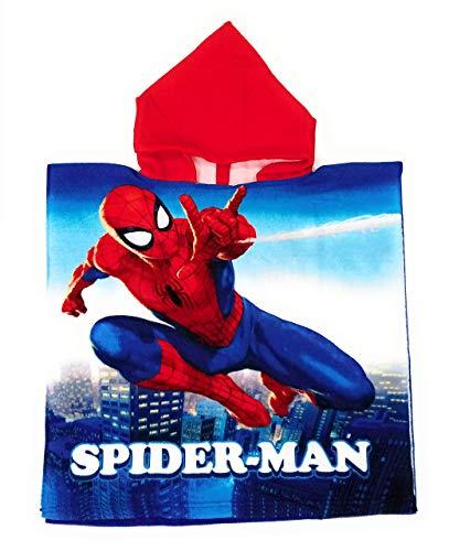 Poncho Spiderman Marvel - Toalla Spiderman Capa Baño