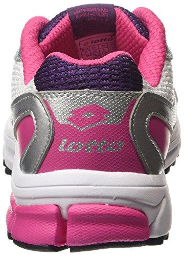 Lotto Zenith Vi W, Chaussures de course femme Multicolore - Mehrfarbig (WHT/GLAMOUR)