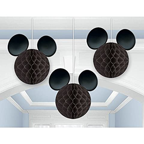 Amscan International 293844 Mickey Mouse Honeycomb Decoration Kit