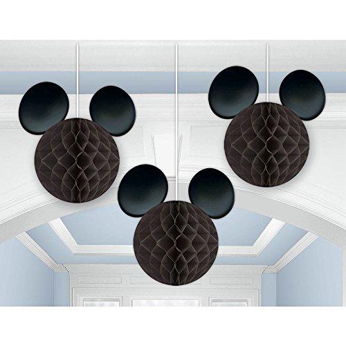 293844Mickey Mouse Honeycomb Dekoration Kit (Micky Maus Party)