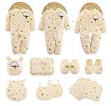 SHISHANG Baby-Geschenk-Kasten 100% reines Baumwoll-Geschenk-Set (18 Sets) (21 Sets) Baby-Kleidung Jungen-Mädchen Vier Jahreszeiten für das 0-1-jährige Baby , 73cm , 1