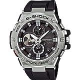 Orologio Casio G-SHOCK G-STEAL GST-B100-1AER Solare Acciaio Quandrante Nero Cinturino Silicone