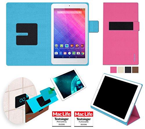 reboon Hülle für Acer Iconia One 8 (B1-820) Tasche Cover Case Bumper | in Pink | Testsieger