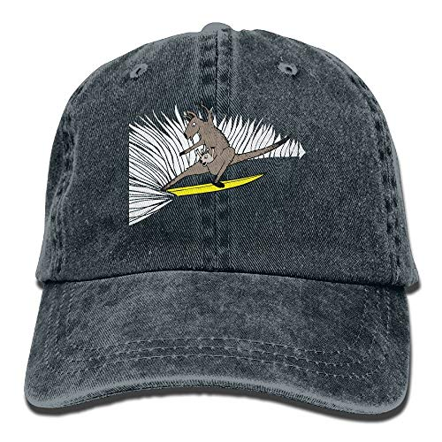 Nifdhkw 2018 Adult Fashion Cotton Denim Baseball Cap Surfing Kangaroo Classic Dad Hat Adjustable Plain Cap Unisex36