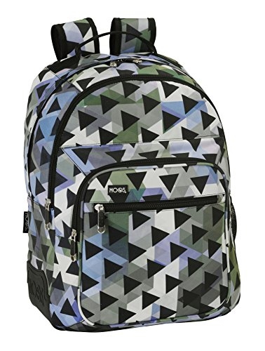 Safta 641547773 Moos Mochila escolar, 42 cm, Multicolor