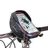 Fahrrad Lenkertasche, Selighting Wasserdichte Fahrradtasche Handytasche  Handyhalter für Handy Kleiner als 6 Zoll