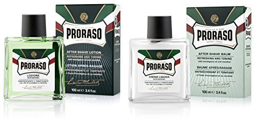 Proraso Aftershave Hautpflege Doppelpack 2 x 100ml