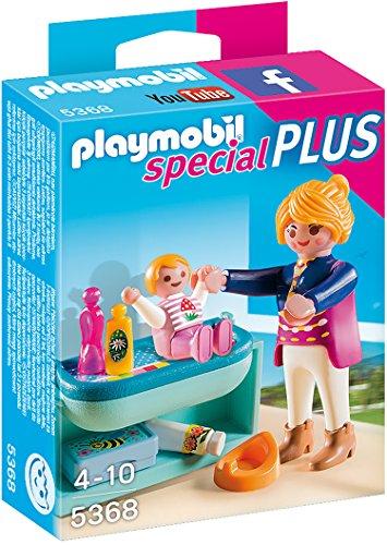 Playmobil 5368 - Mutter mit Baby-Wickeltisch