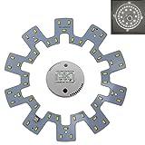 LED Modul 24 Watt tageslichtweiß / neutralweiß - Umbau Set für Deckenleuchte Ringlampe Deckenleuchte Rundlampe Röhrenlampe G10q