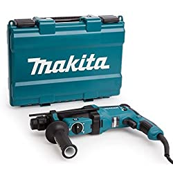 Makita HR2630 - Martillo rotativo combinado (26Mm, 230-240 V, 800 W ...