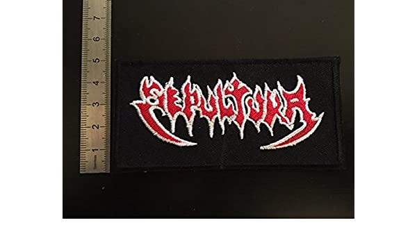 ECUSSON PATCHES AUFNAHER TOPPA THERMOCOLLANT SEPULTURA