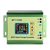 Topker MPPT Solar Panel Batterie Regler Laderegler mit LCD Farbe Display 24/36/48/60/72 V 10A Kompatible DC-DC Boost Charge Funktion