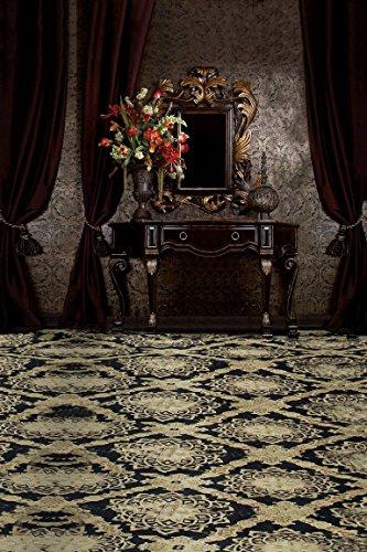 A.Monamour Vintage Blumenteppich Bodenspiegel Vorhang Raumszene Hochzeit Fotohintergründe Studio Requisiten Fotohintergründe