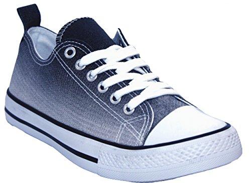 A&H FootwearCasey - Basse con lacci da ragazza donna Navy