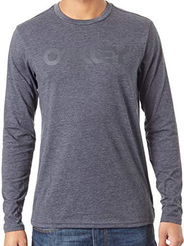 Oakley Camiseta de Manda Larga Mark II Jet Negro Heather