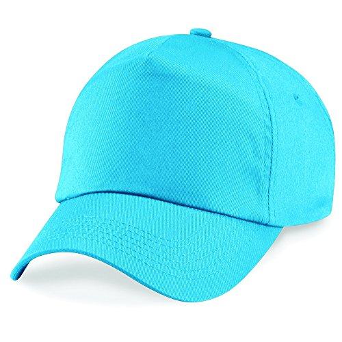 Beechfield - Casquette de Baseball - Homme Bleu - Surf Blue