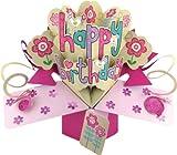 Second Nature - Tarjeta de felicitación para cumpleaños, diseño en 3D con texto en inglés