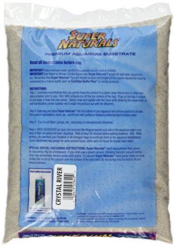 Carib Sea ACS05840 Super Naturals Crystal River Sand for Aquarium, 5-Pound 2