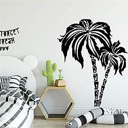 Pegatina de pared de estilo europeo Pvc extraíble para habitaciones de niños Decoración de la habitación de fondo Arte de la pared Tatuajes de arte XL 58 cm X 71 cm