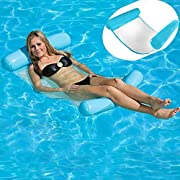 d35aba984250 HomeYoo Letto Galleggiante, Nuoto Piscina Galleggiante Acqua Amaca, Tenda a  Letto Galleggiante, Estate di Nuoto Gonfiabile Galleggiante Sedia a Sdraio  per ...