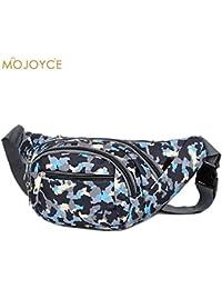 Buyworld Waist Bag For Man Women Messenger Crossbody Bags Oxford Pack Belt Bag Functional Waist Pouch Fanny Pocket...