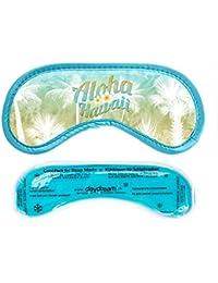 Daydream M-3054 Aloha - Antifaz para dormir con compresa de frío