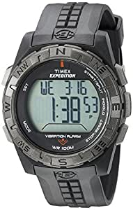 Timex Herren-Armbanduhr XL Analog Plastik T49851SU