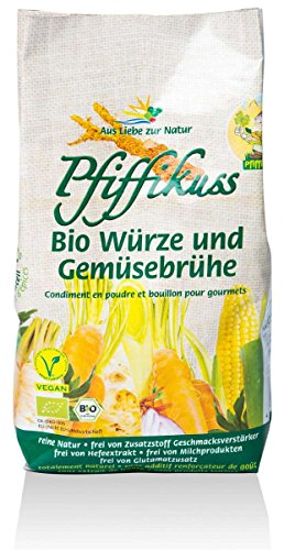 Pfiffikuss Bio Würze und Gemüsebrühe Nachfüll 450g