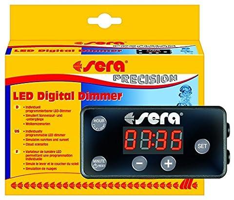 sera 31070 LED Digital Dimmer - mit Simulation zweier verschiedener Wolkenszenarien und zur individuellen Steuerung der sera