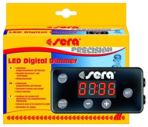 sera 31070 LED Digital Dimmer - mit Simulation zweier verschiedener Wolkenszenarien und zur individuellen Steuerung der sera LED-Beleuchtung