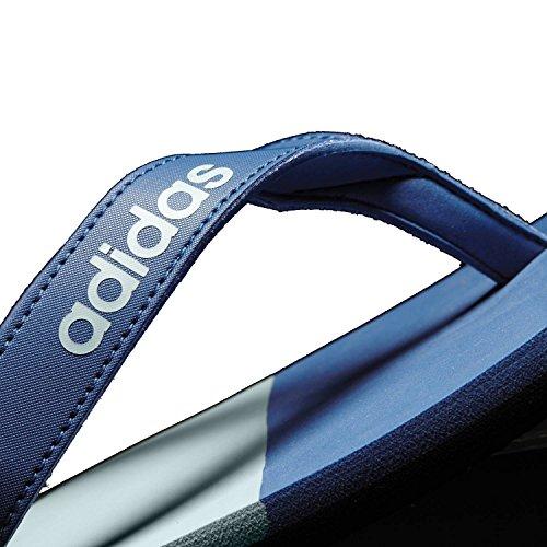 huge discount f3759 e7a50 ... adidas Herren Eezay Striped Zehentrenner, Core BlueMystery  BlueTactile Green Blu (