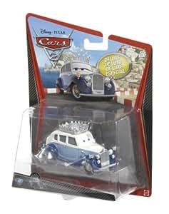 DISNEY PIXAR CARS 2 - DELUXE SERIES / OVERSIZED - THE QUEEN # 10 - Véhicule Miniature - Voiture