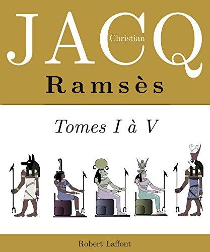 l'Intégrale Ramsès - Tomes I à IV par Christian JACQ