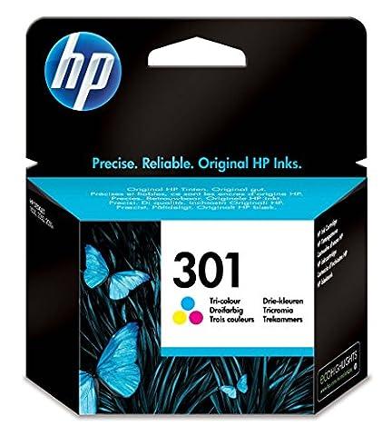 HP 301 Tri-color Original Ink Cartridge (Magenta Originale Della Testina Di Stampa)