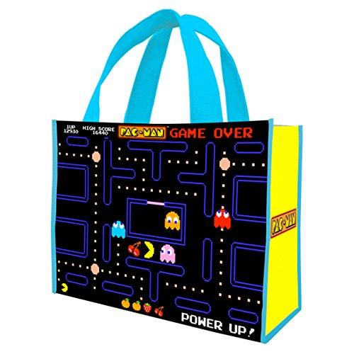 Pac-Man Maze Screen Large Tote Bag