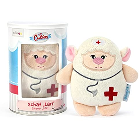 kullaloo CanCutie serie Trost - Peluche, diseño de oveja Lari enfermera