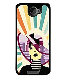 Snapdilla Designer Back Case Cover for HTC One X :: HTC One X+ :: HTC One X Plus :: HTC One XT (Background Illustration Backcase Pouch Graphics)