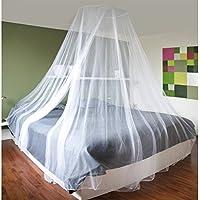 Baldachin Weiß Moskitonetz Von JEMIDI 60cm X 250cm Betthimmel Himmelbett  Moskito Netz Kinderzimmer Mit Aufhängring Und