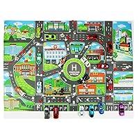 Iruixindi Incomparable Kids Educational Toys City Parking Road Map Car Model Climbing Mats Style