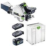 Festool Akku-Tauchsäge TSC 55 Li 5,2 REB-Plus/XL 201391 2 Akkus Systainer