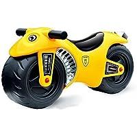 deAO Ride On Balance - Moto para bebés y niños en color amarillo